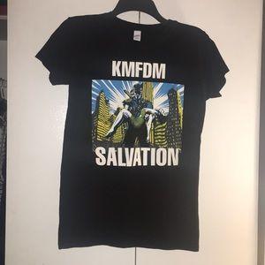 KMFDM 2015 Salvation Tour Black T-shirt
